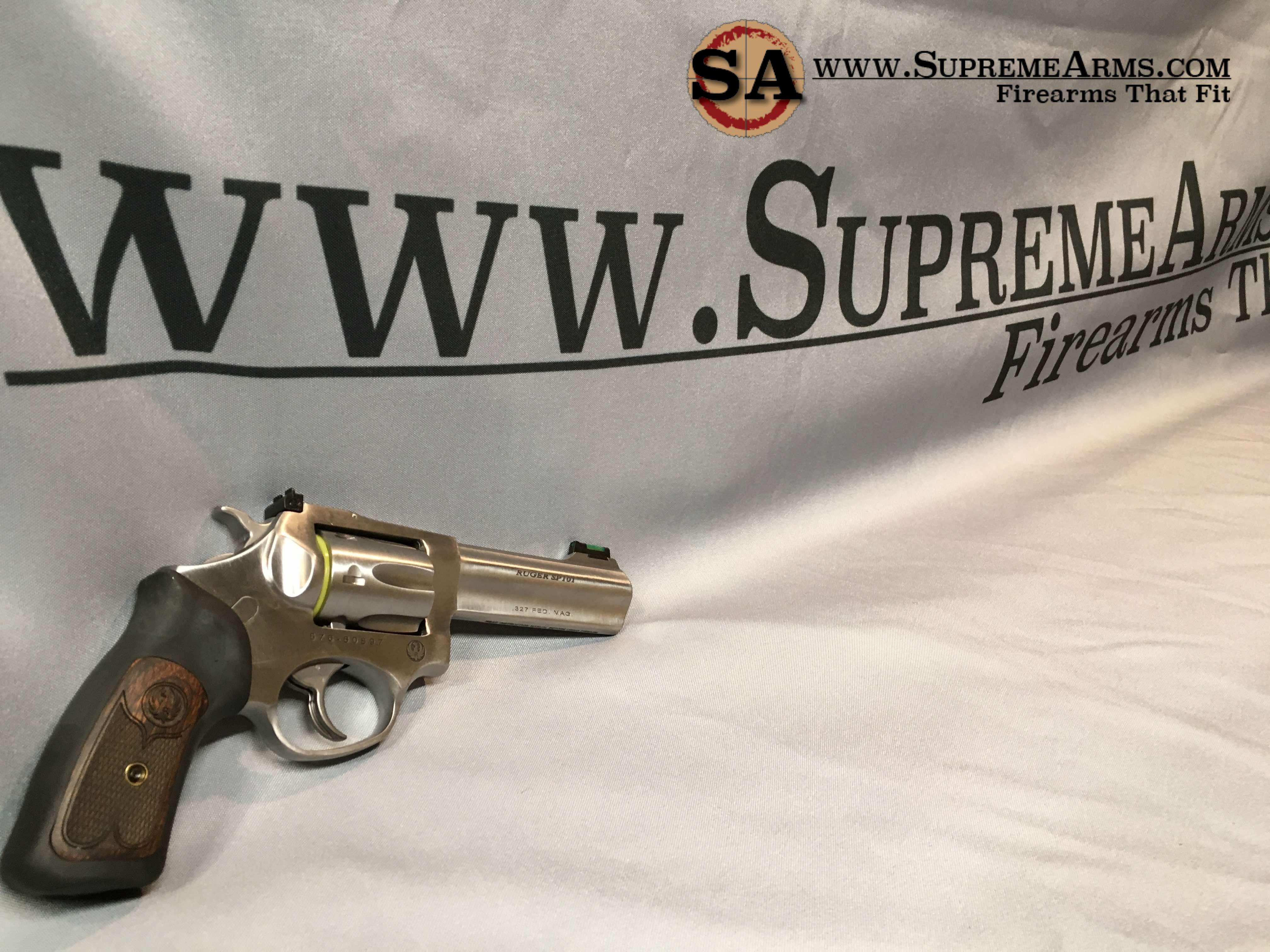 ruger sp101 327 federal magnum stainless steel revolver