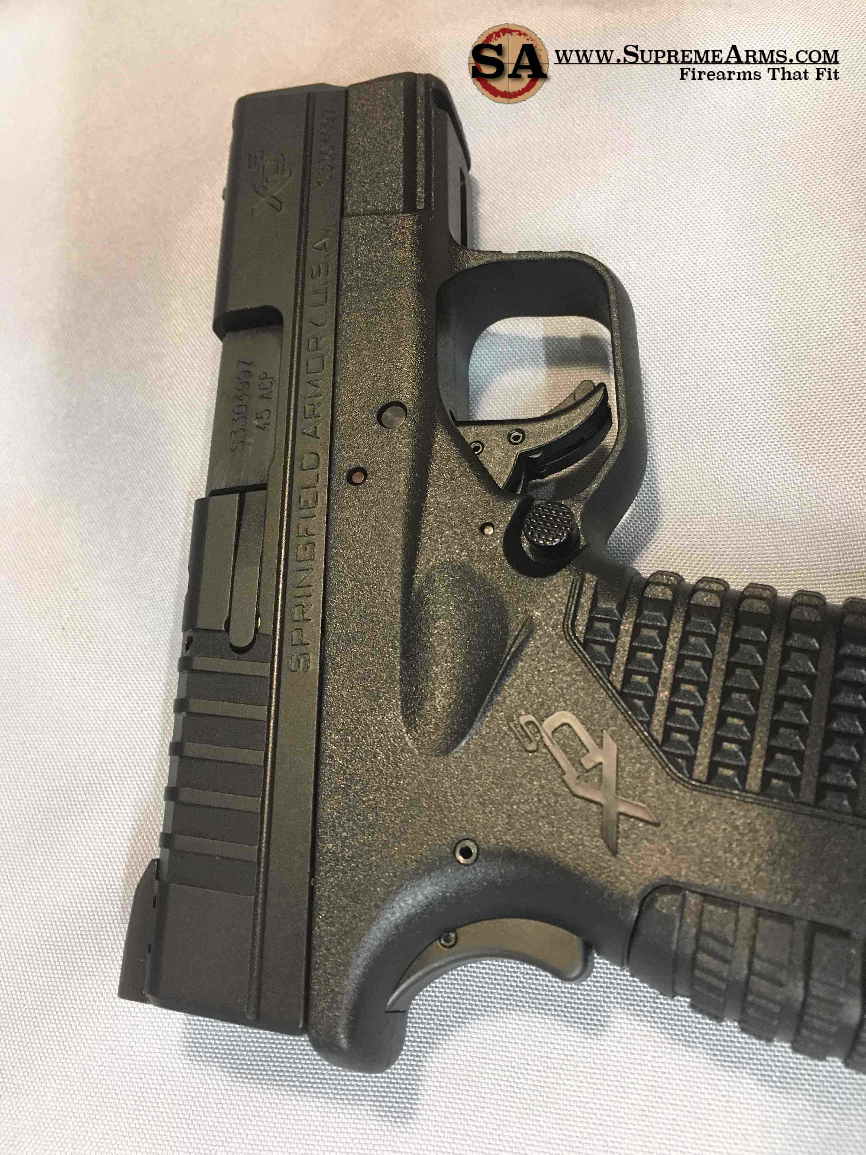 xds 45 with extended magazine