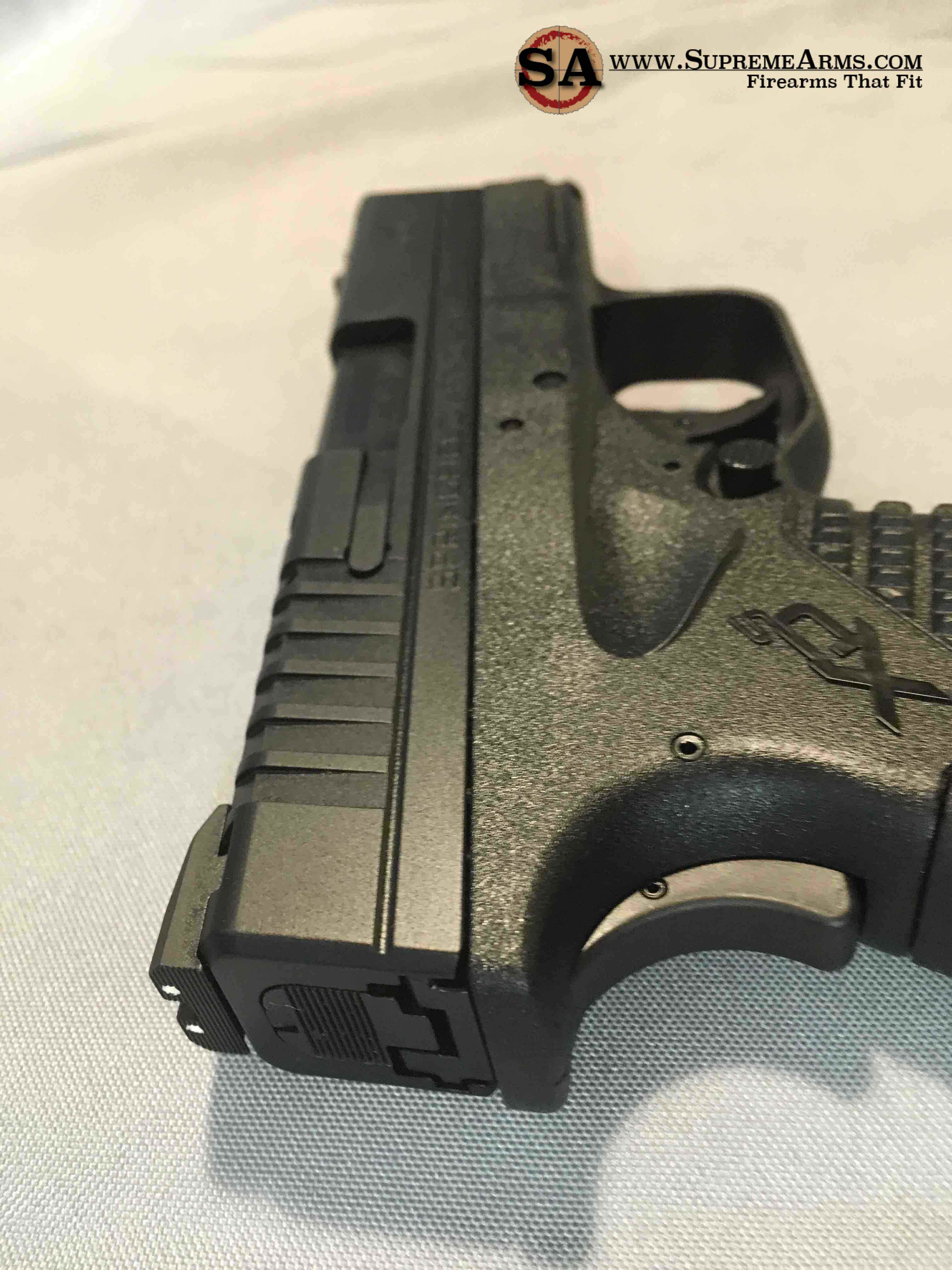 xds45 top with fiber optic sight